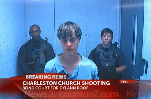 Man accused of killing nine at historic Charleston church in bond court (Image 1)_13613