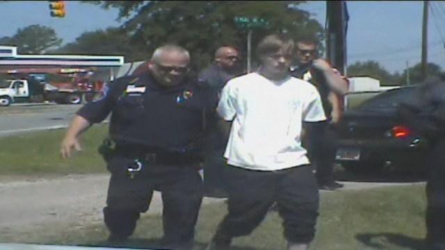 Dylann Roof Arrest Video_14057