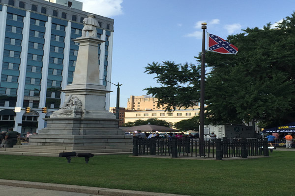 Confederate flag on its last day_20818