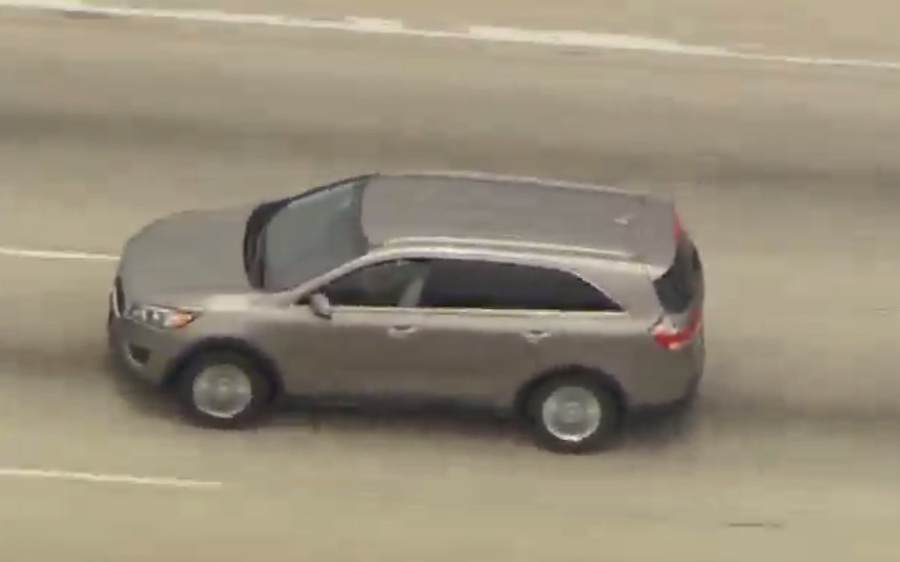 LIVE: High-speed police chase in L A  area