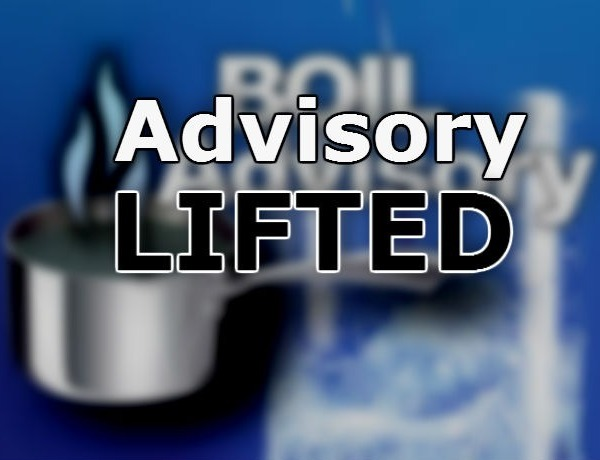 Boil Water Advisory lifted_16882