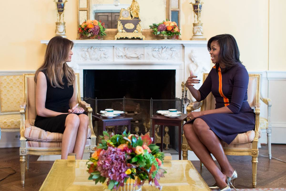 michelle and melania_252761