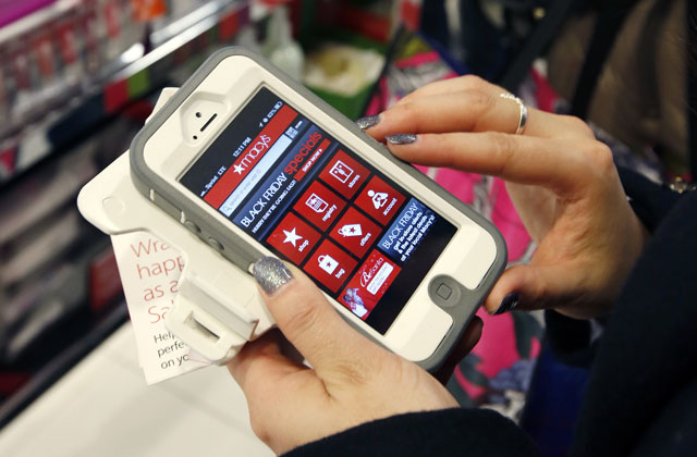 Smartphone shopping app_263347