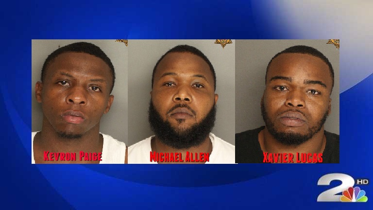 Trio arrested on drug charges in Berkeley County