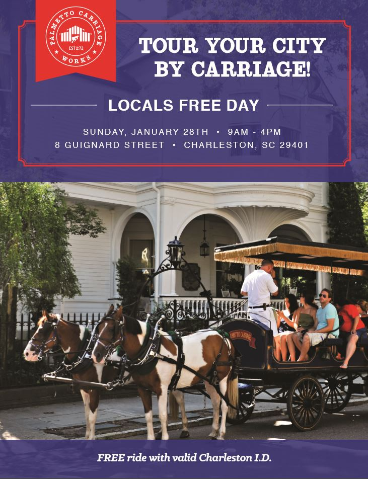 Palmetto Carriage Offers Free Rides For Locals