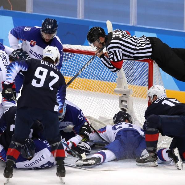 Team USA Hockey vs Slovenia 1-54729046