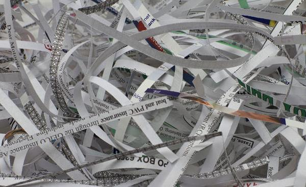 shredded paper - generic_490453