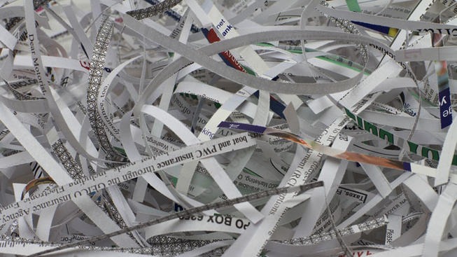 shredded paper - generic_490453
