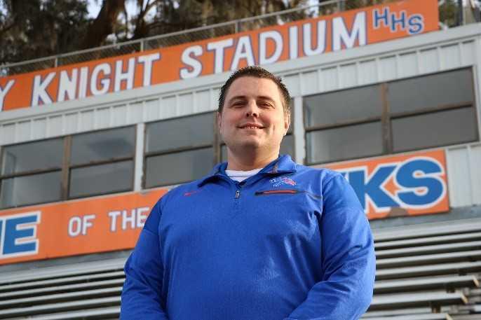 David Morbitzer named new varsity football coach at Hanahan High School_491312