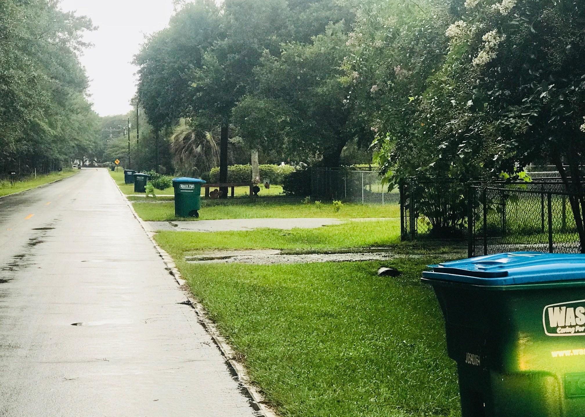 Johns Island trash bins linger