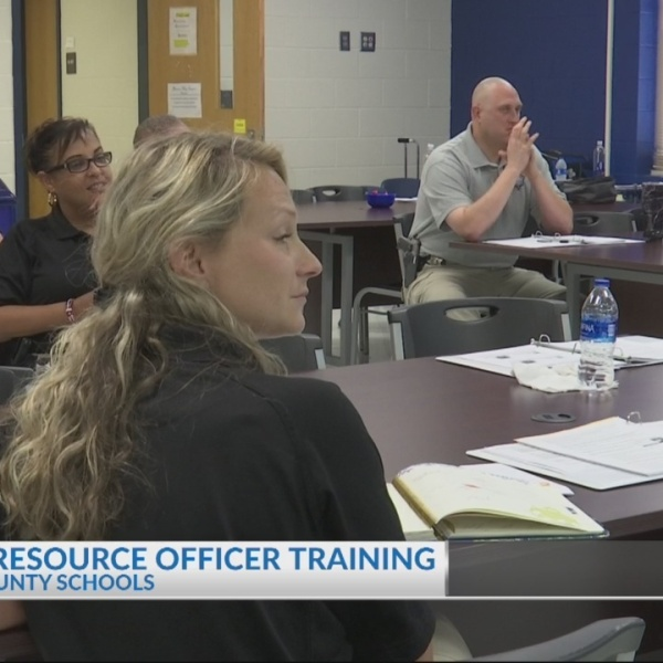 School resource officer training BCSD