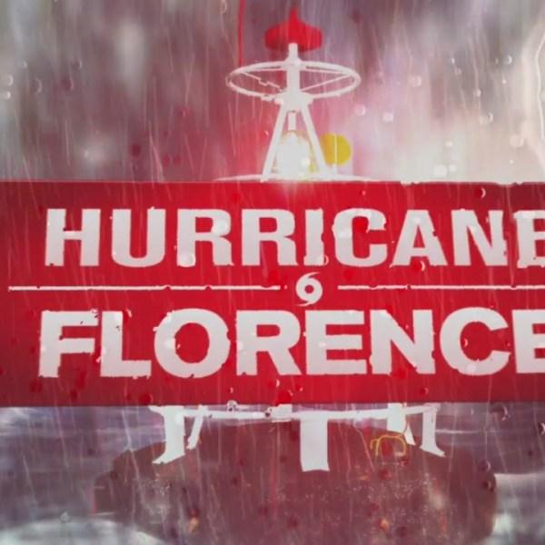 Hurricane Florence Josh AM hit
