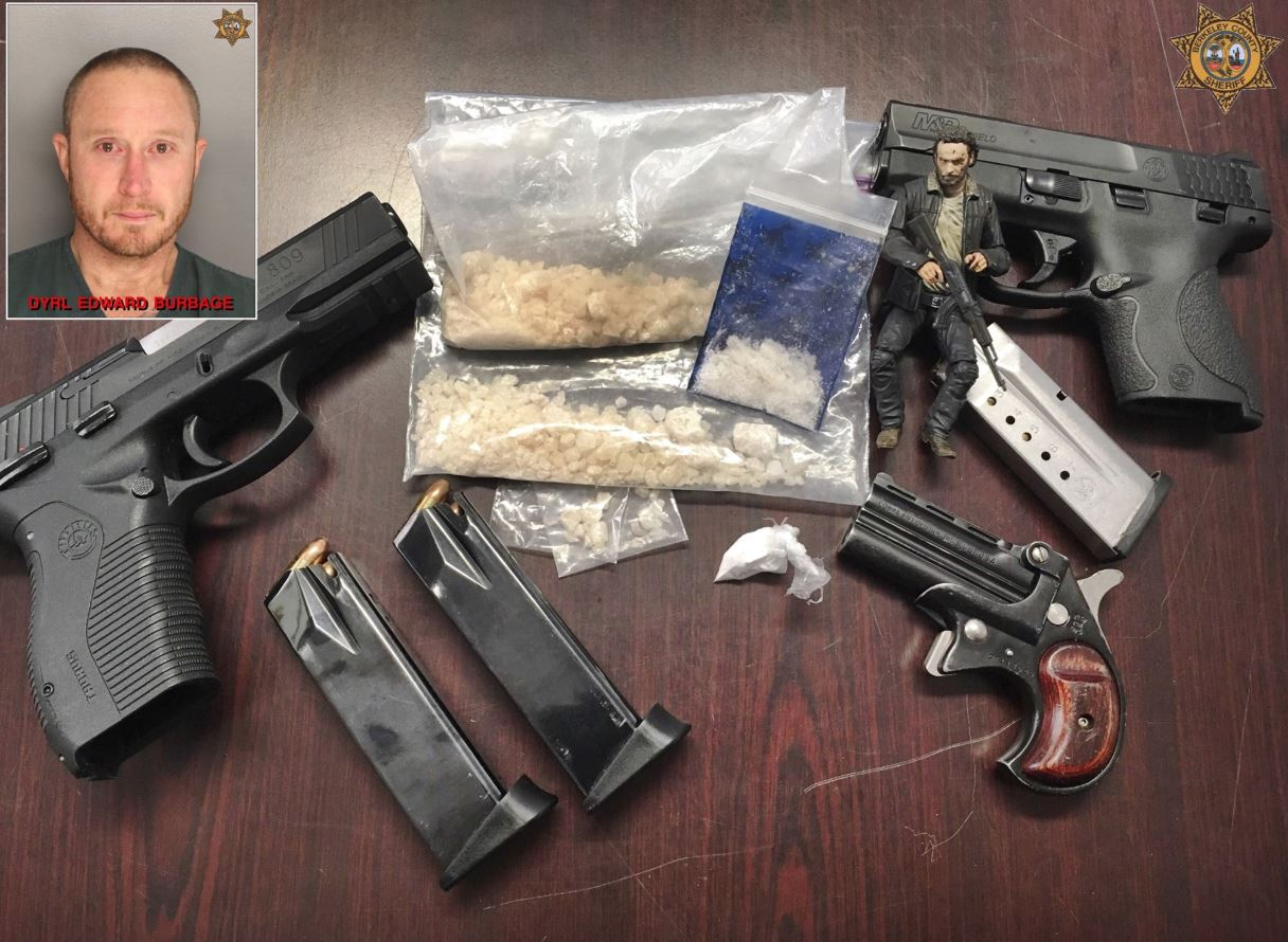 Deputies apprehend suspect after search warrant finds drugs