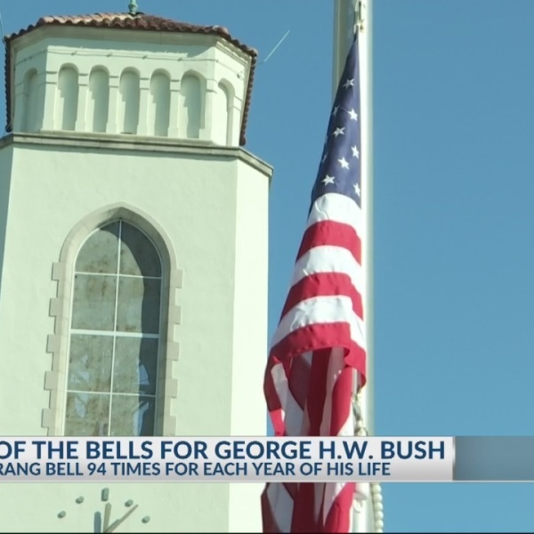 The Citadel honors late president George H.W. Bush with special ceremony