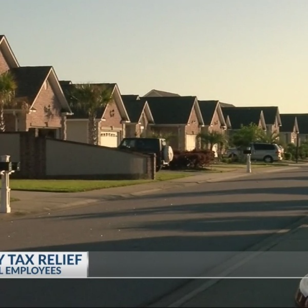 Property tax relief for federal workers
