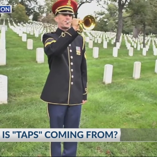 "Where is ""taps"" coming from?"