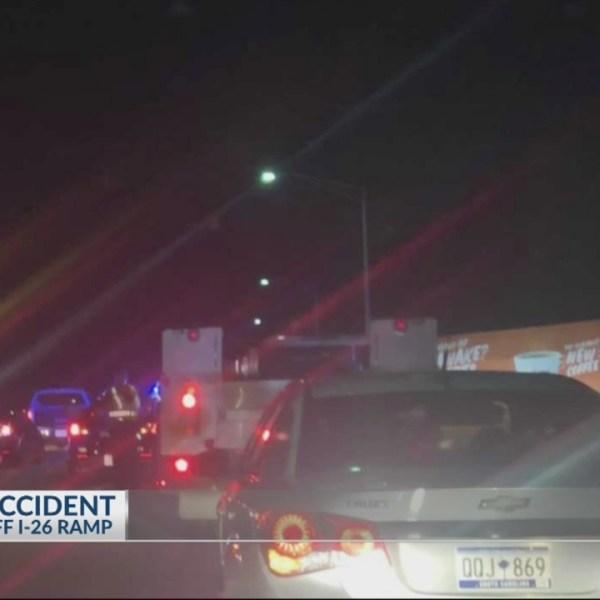 Deadly accident on Ravenel Bridge