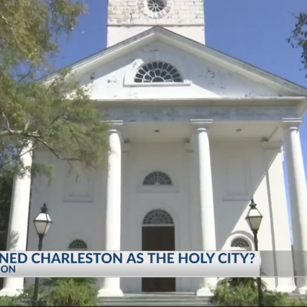 "Good Question: Who coined Charleston as the ""Holy City""?"