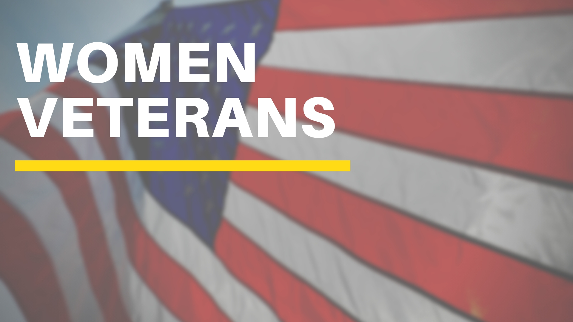 Women Veterans