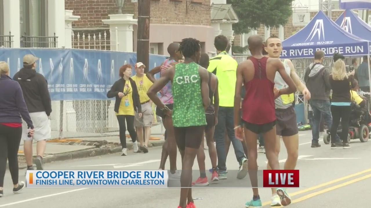 Cooper River Bridge Run winner