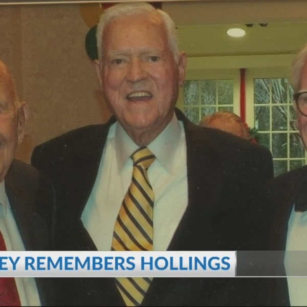Former Mayor Joe Riley remembers Fritz Hollings