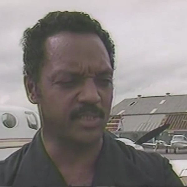 Jesse Jackson tours storm damage in Charleston