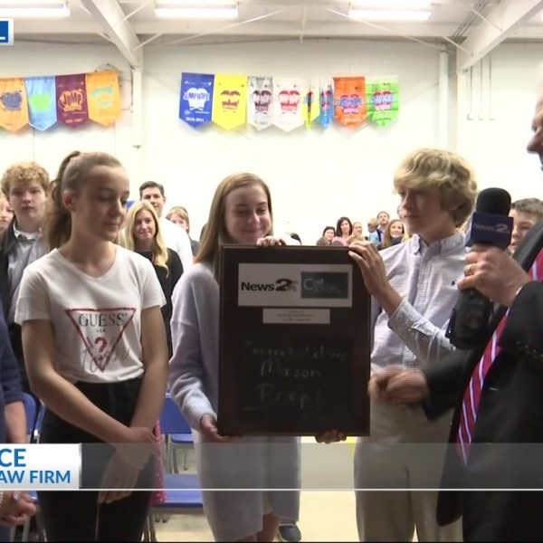 Mason Preparatory School receives the News 2 Cool School award