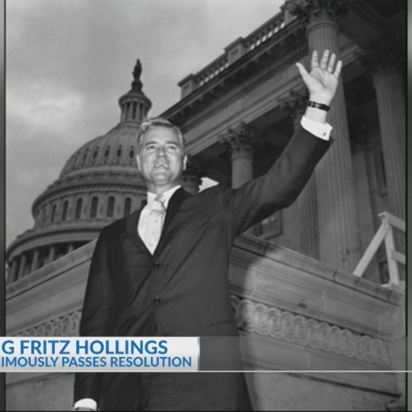 Senate passes resolution honoring late Sen. Fritz Hollings