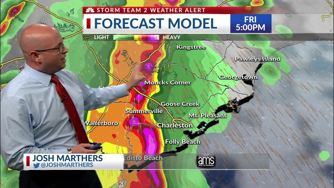 WEATHER ALERT DAY: Severe thunderstorm threat increasing for the