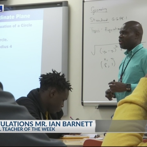 Cool School Teacher Mr. Ian Barnett