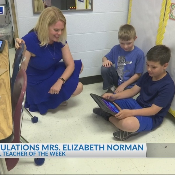 Cool School Teacher:  Mrs. Elizabeth Norman