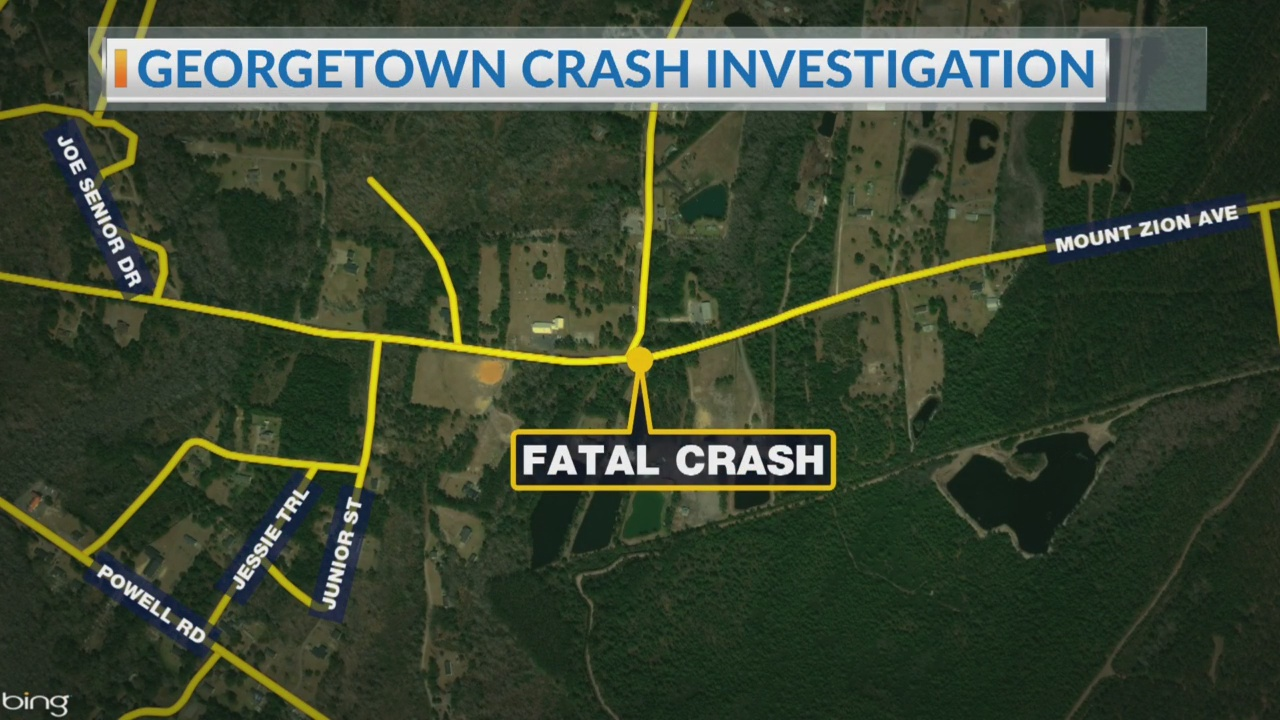 Motorist killed after crashing into a tree in Georgetown