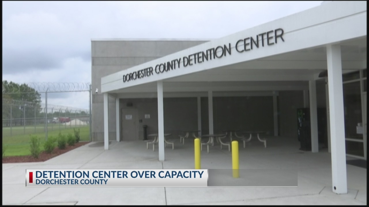 Dorchester County Detention Center is over capacity while