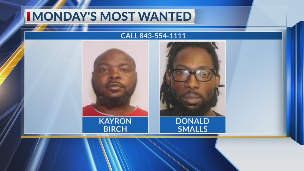 Monday's Most Wanted: N  Charleston PD searching for two