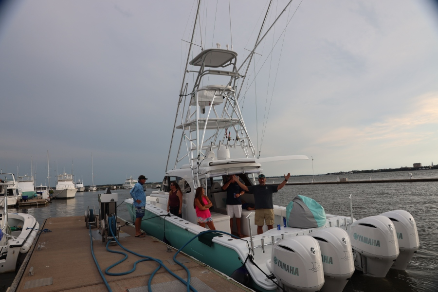 PHOTOS: King of 'Margaritaville' SC commissions boat from