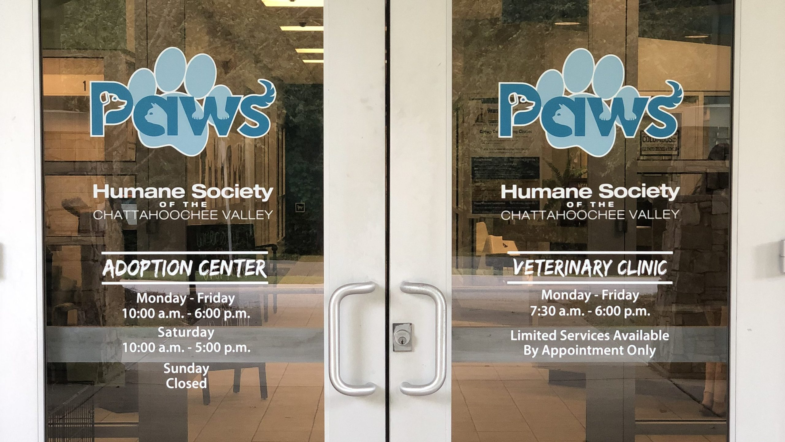 Paws Humane Updates Hours of Operations to Better Serve