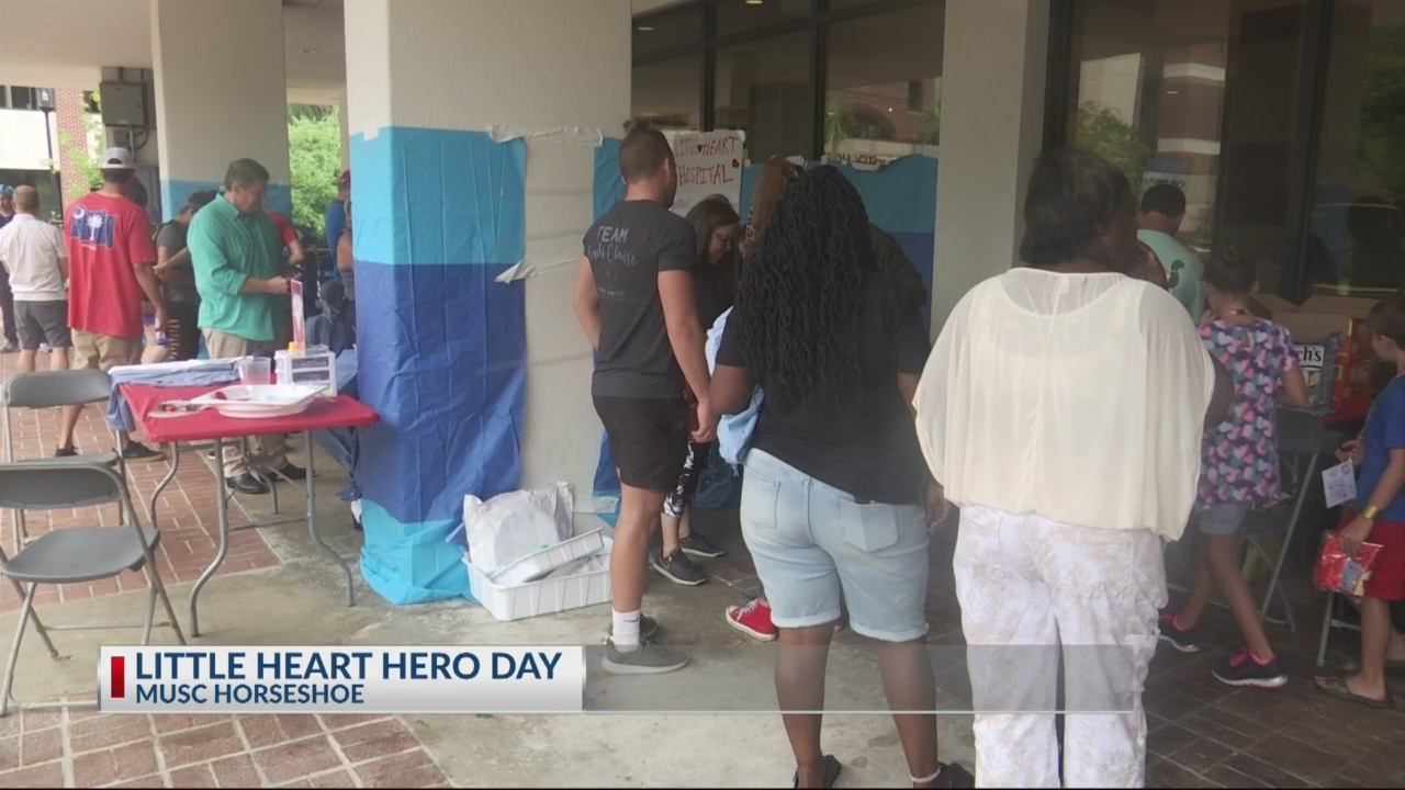 Children dress as heroes for MUSC Little Hearts Hero Day