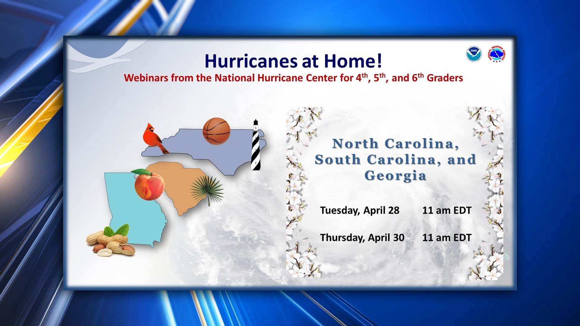 National Hurricane Center Offering Virtual Lesson On Hurricanes For South Carolina Students Wcbd News 2