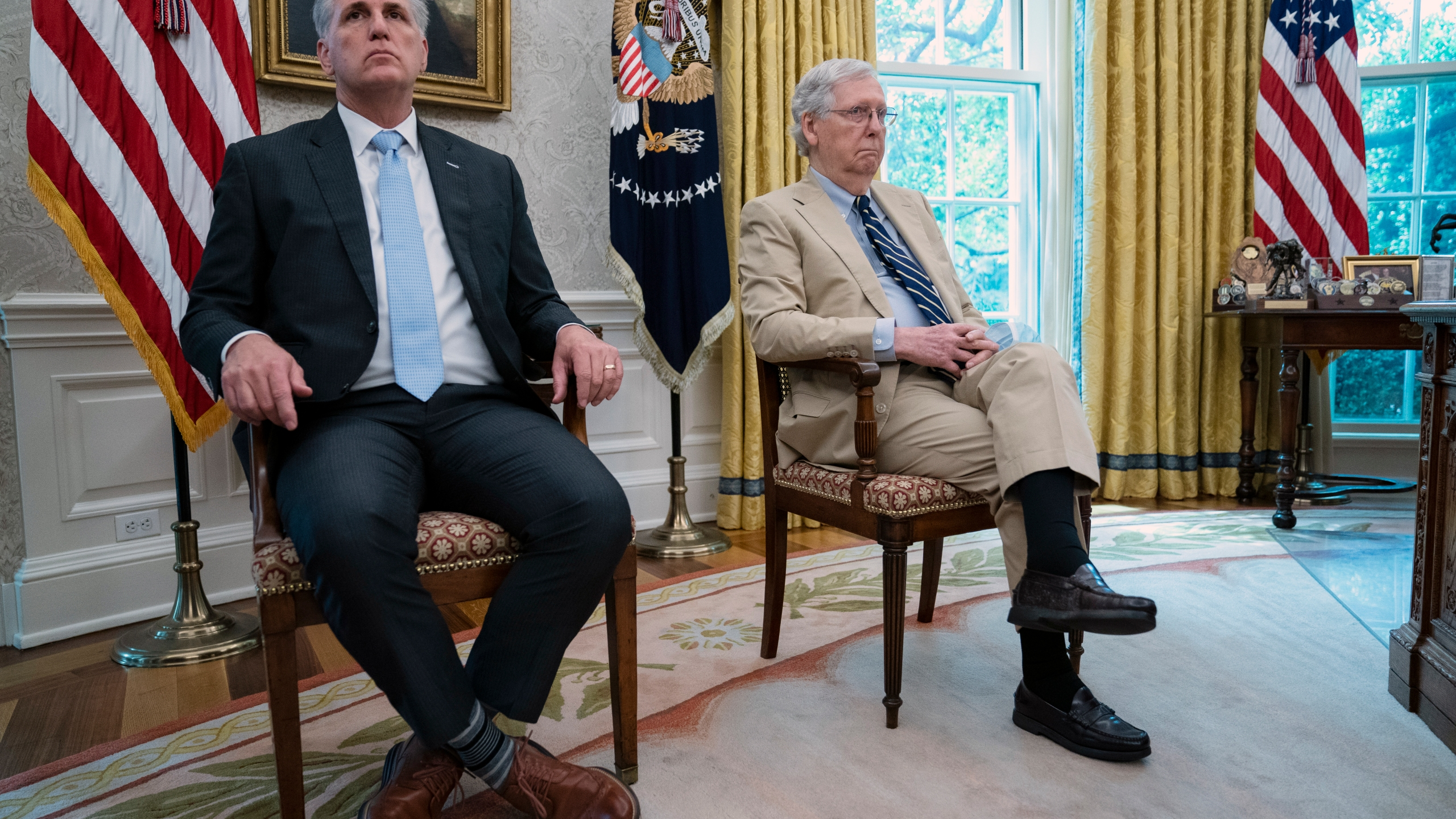 Mitch McConnell, Kevin McCarthy